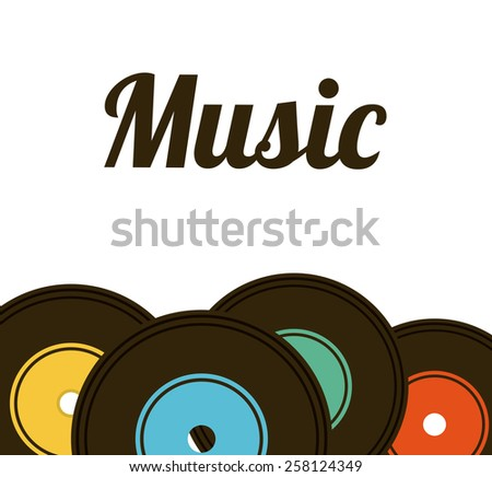 music lifestyle design, vector illustration eps10 graphic