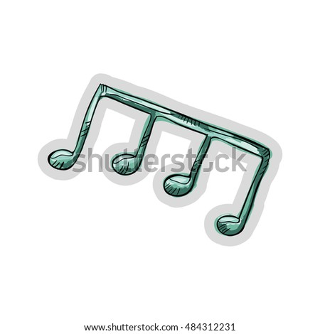 music note element