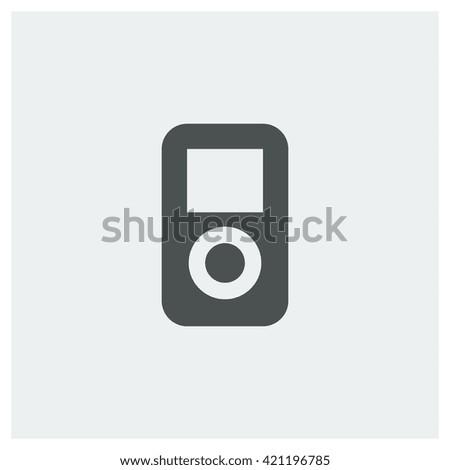 music player Icon, music player Icon Eps10, music player Icon Vector, music player Icon Eps, music player Icon Jpg, music player Icon Picture, music player Icon Flat, music player Icon App - stock vector