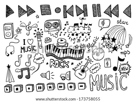 Music Signs - stock vector