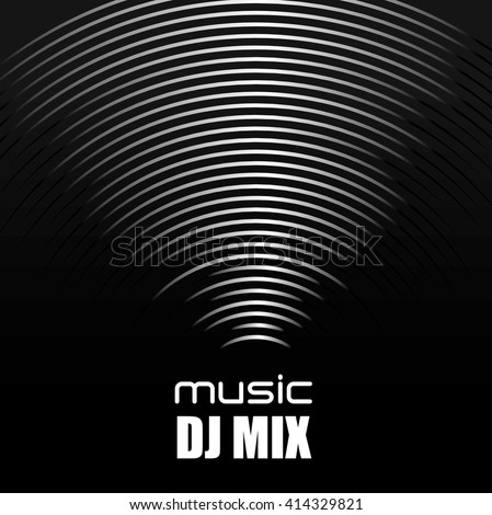 music sound  design  - stock vector