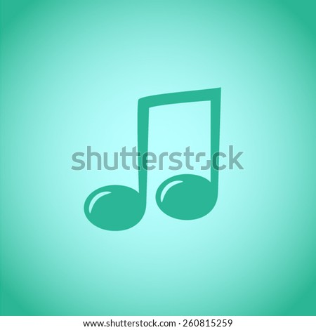 Music vector icon