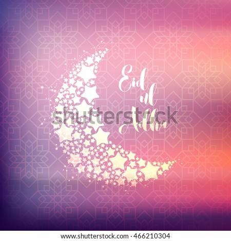 Muslim community festival eid ul adha stock vector 466210304 muslim community festival eid ul adha beautiful greeting card eid ul adha eid al m4hsunfo