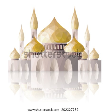 Muslim Mosque Ramadan illustration