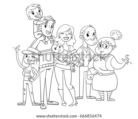 Superhero Body Cliparts further Cat outlines together with Black And White Bright Lightbulb With Exclamation Points 1160047 additionally My Big Family Posing Together Father 666856474 furthermore Fart. on cartoon character head clip art