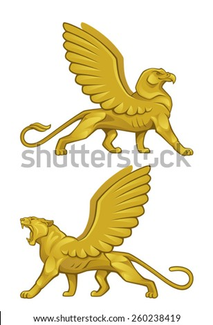 Mythical creature - stock vector