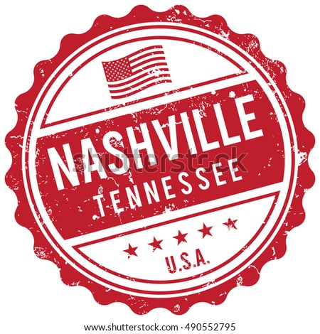 Nashville Tennessee stamp