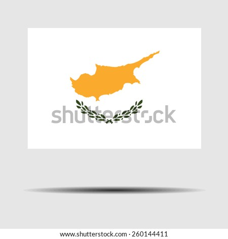 National flag of Cyprus - stock vector