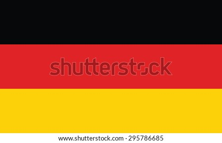 National Flag of Germany - stock vector