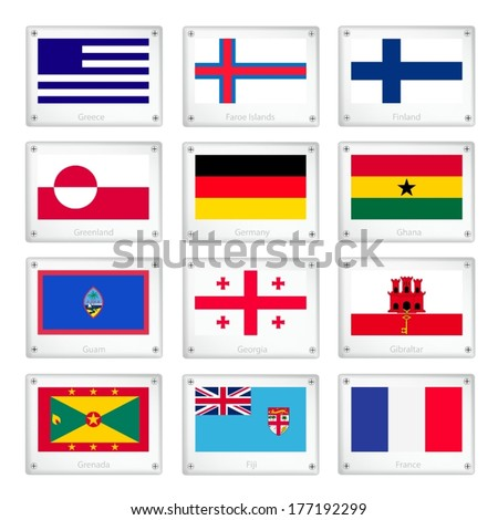 Greenland National Flag National Flags of Greece