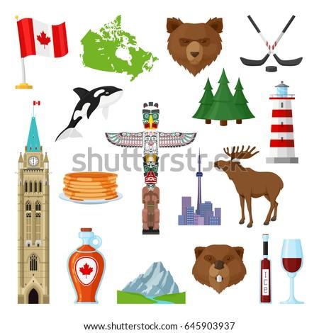 National Symbols Canada Official Representation Country ...