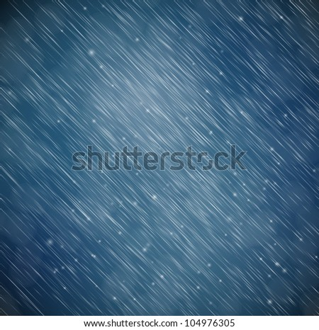 Natural background with rain. Eps 10 - stock vector
