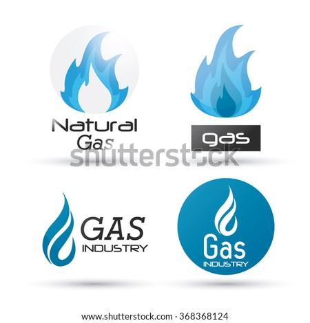 Natural Gas Design Stock Vector 368368124 Shutterstock