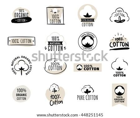 Organic cotton icon