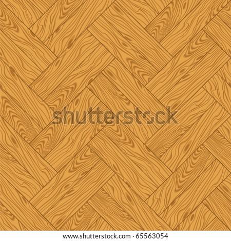 Natural wooden parquet texture. Seamless pattern - stock vector