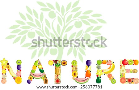 Nature - stock vector