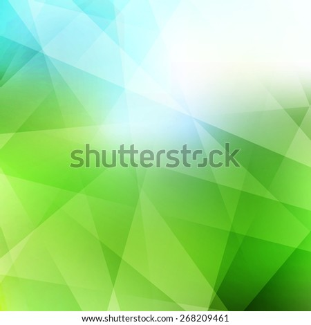 Nature background. Modern pattern. Abstract vector illustration. Can be used for your website or presentation.  - stock vector