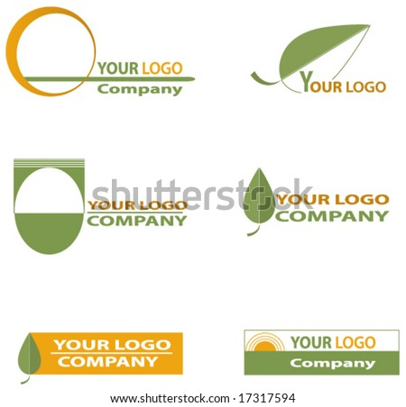 Nature logos. - stock vector