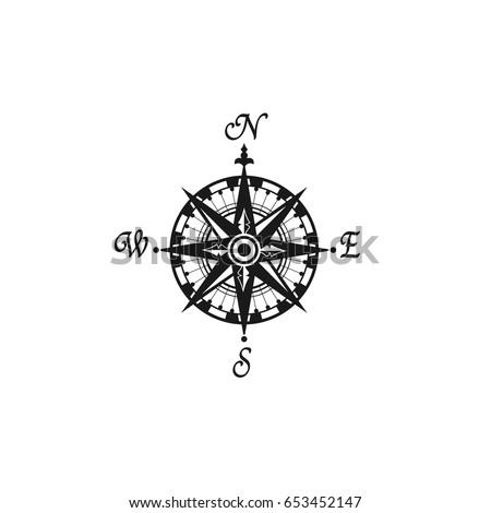 Compass South Symbol