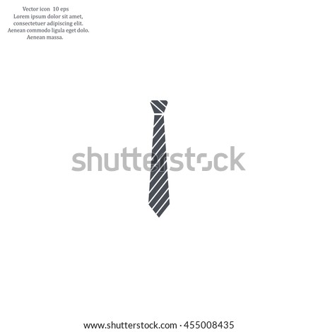 Necktie icon - Vector