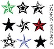 Need to rate something? All vector - NO CS-specific effects, and so should work with Freehand, Corel, etc. Have fun adding your own CS effects. - stock vector