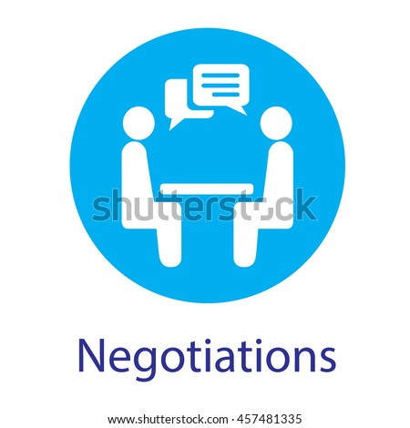 Negotiation Vector Icon. Negotiation Icon JPEG. Negotiation Icon EPS. Negotiation Vector Concept. Negotiations logo Icon.