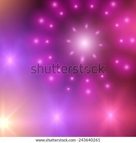 Neon lights vector background. Eps10. - stock vector