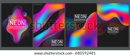 Neon Color Splash Paint