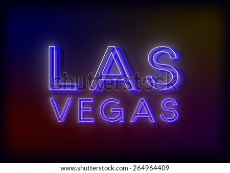 Neon sign, design for your business. Bright attracts the attention of a luminous sign saying - Neon light. Glowing Neon light. EPS10 vector image. - stock vector