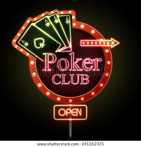 neon green aces cards poker wiki