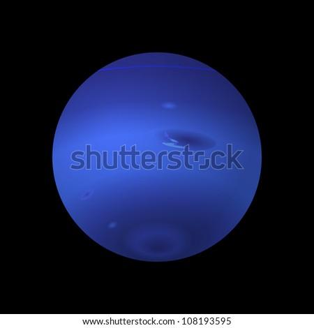 Neptune - stock vector