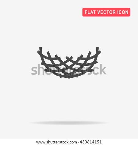 Nest icon.   - stock vector