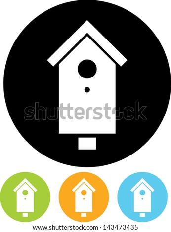 Nesting box vector icon  - stock vector