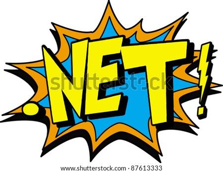 net - stock vector