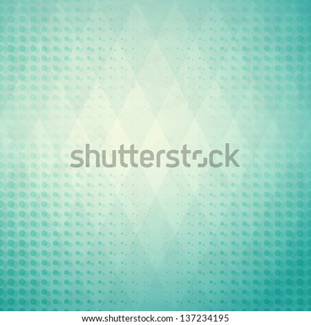 new abstract background with diamonds and dots can use like modern wallpaper - stock vector