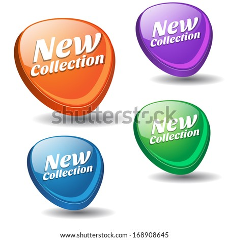 New Collection Colorful Vector Icon