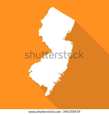 New Jersey Map Stock Images RoyaltyFree Images Vectors - Newjerseymap