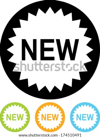 New offer vector icon - stock vector
