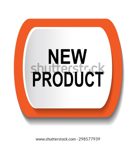 new product icon - stock vector