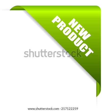New product ribbon - stock vector
