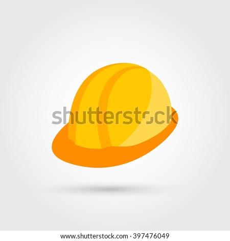 new safety helmet - stock vector