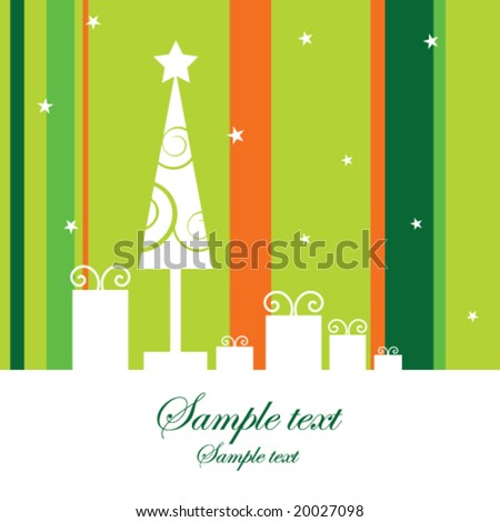 New year's image - stock vector