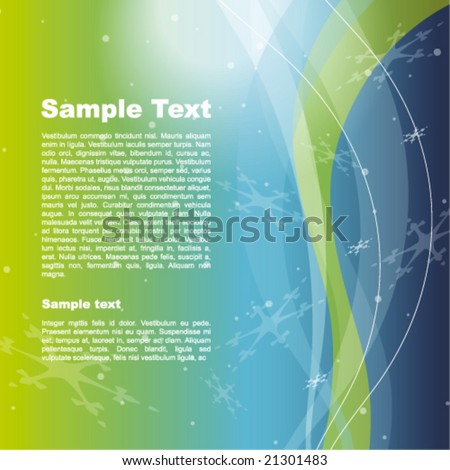 New year's template - stock vector