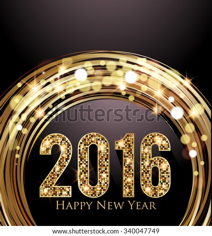 New Years Eve party background - stock vector