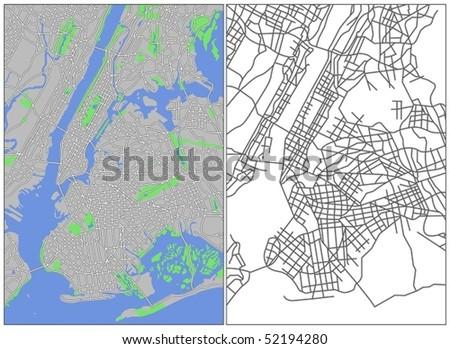 New York - stock vector