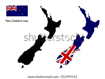 new zealand map outline stock images, royalty-free images