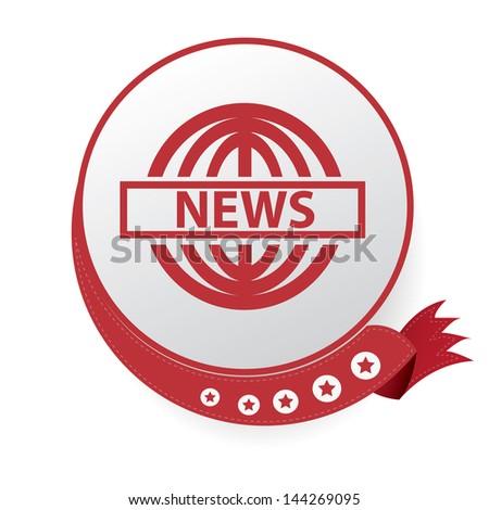 News symbol,vector - stock vector