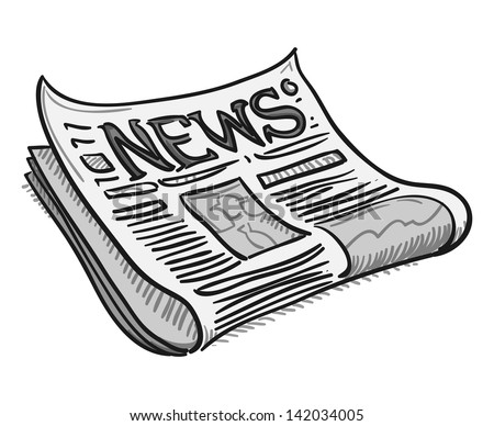 Newspaper Cartoons Stock Images RoyaltyFree Images  Vectors