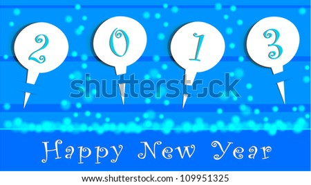 Newyear_pattern - stock vector