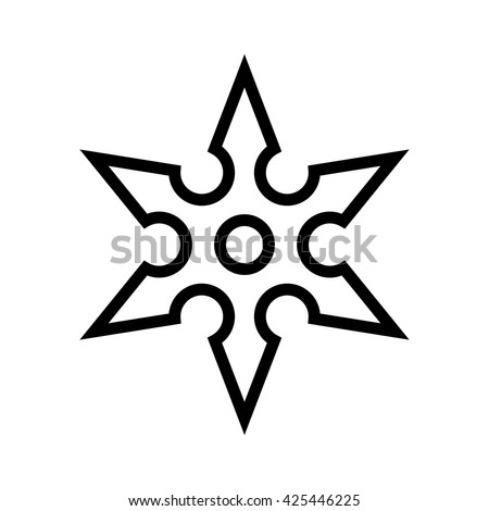 Ninja Throwing Star Stock Images, Royalty-Free Images ...
